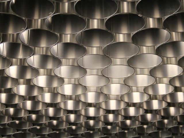 Aluminium Deckenverkleidung
