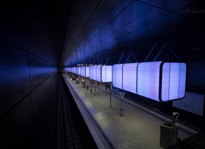 U-Bahnstation Hafencity Universität
