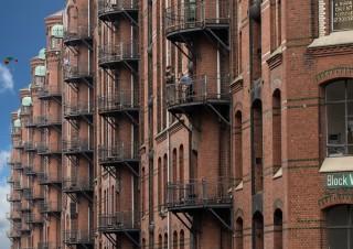 Speicherstadt Balkone
