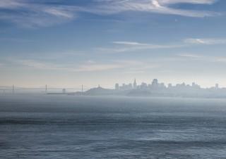 San Francisco im Dunst