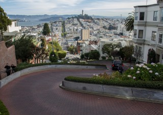 Lombardstreet in San Francisco