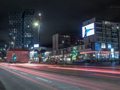 """Abriss der """"Esso Häuser"""" auf St. Pauli"""