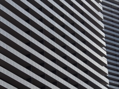The Cosmopolitan – Fassadenausschnitt