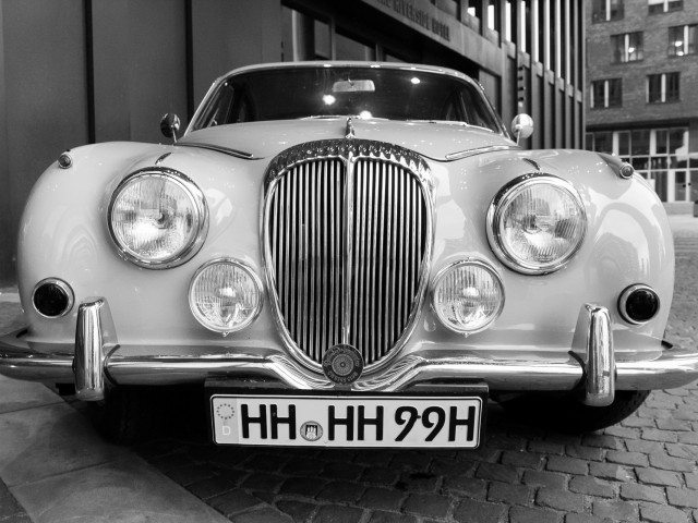 Frontansicht Daimler V250