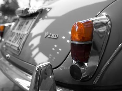 Daimler V250 Rückansicht
