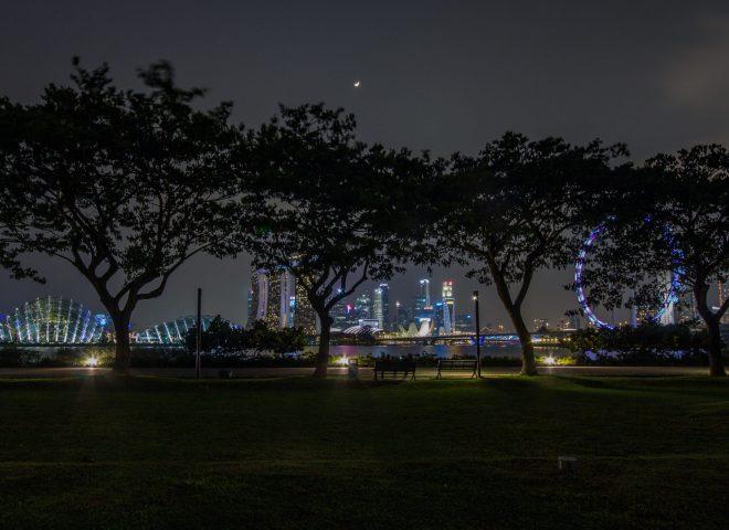 Singapur Parklandschaft