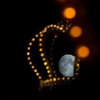 Mond auf dem Hamburger DOM