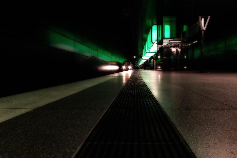 U-Bahn Station - Hafencity Universität